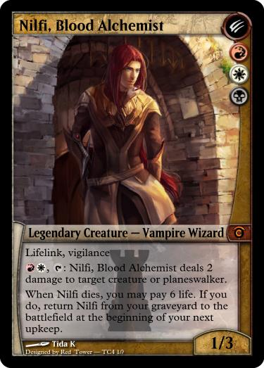 Nilfi Blood Alchemist