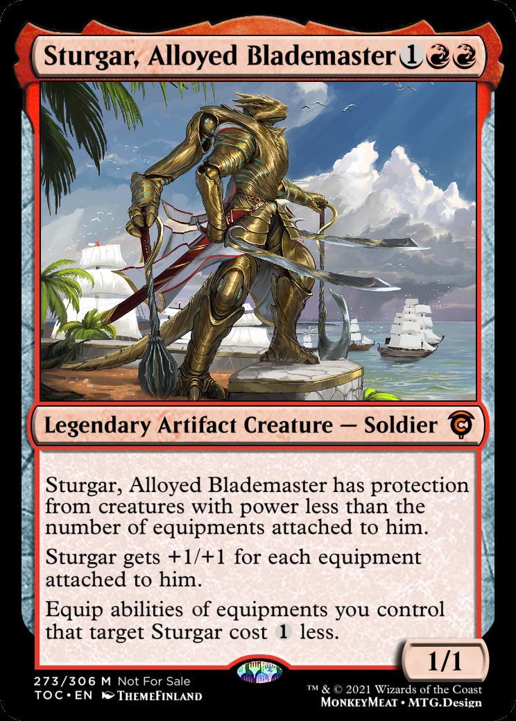 Sturgar Alloyed Blademaster